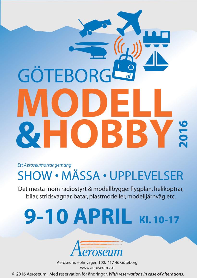 Göteborg Modell & Hobby 2016